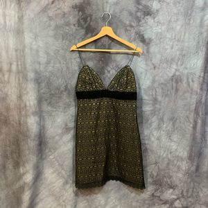 Milly of NY Black Lace Cocktail Dress 10